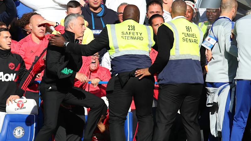 Mourinho in furious bust-up with Chelsea staff after late equaliser