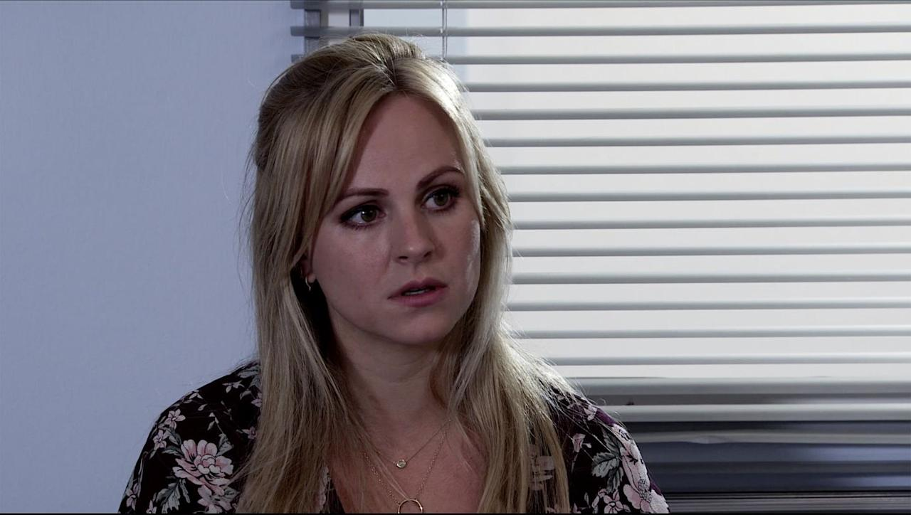 <p>Before the incident, Sarah had discovered the truth about Rick's murder.</p>