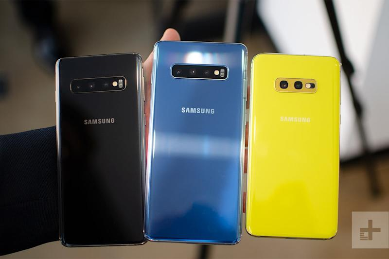 samsung galaxy s10 news and rumors family back announcement