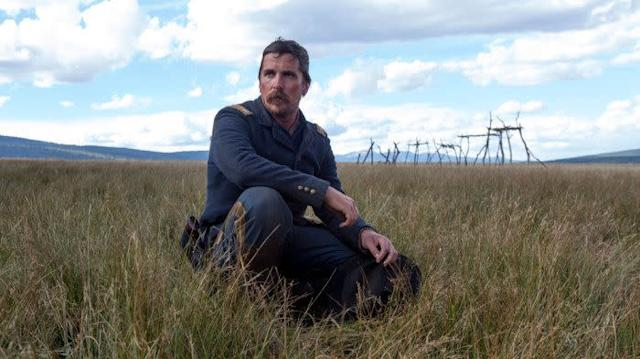 """Most recent headlines aboutChristian Bale relate to his forthcoming role as Dick Cheney,for which hegained weight and shaved his head.""""Hostiles"""" isn't attracting the same attention, butBale has been tossed into Best Actor conversations for histurnas a racist calvary officer in 1892. Known for being a shape-shifting Method dude,Bale has a sort of perpetualserendipitythat has already netted him three nods, all for movies in which his physical staturewas key (""""The Fighter,"""" """"American Hustle,"""" """"The Big Short"""")."""