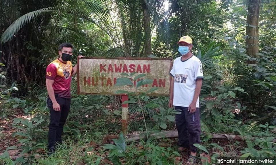 Umno Youth leader moots federal takeover of Kuala Langat forest reserve