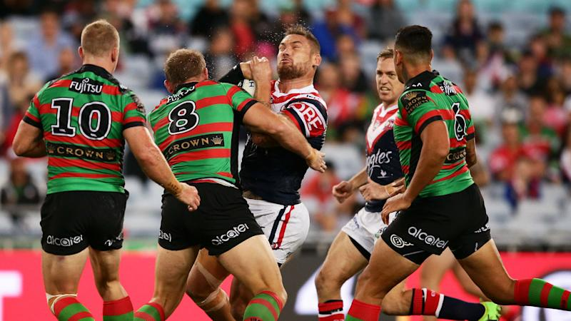 Roosters stay perfect to earn bragging rights over Rabbitohs