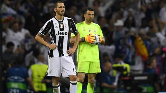 Bonucci admits Juve 'thought it was our time' before Madrid mauling in Champions League