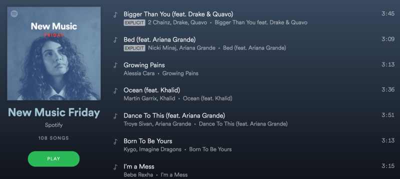 Spotify playlists can make or break artists