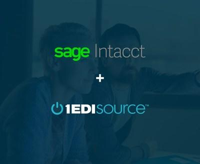 1 EDI Source is Now a Sage Intacct Marketplace Partner