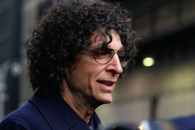DJ Howard Stern interviewed Mr Trump about Diana (Picture: Rex)