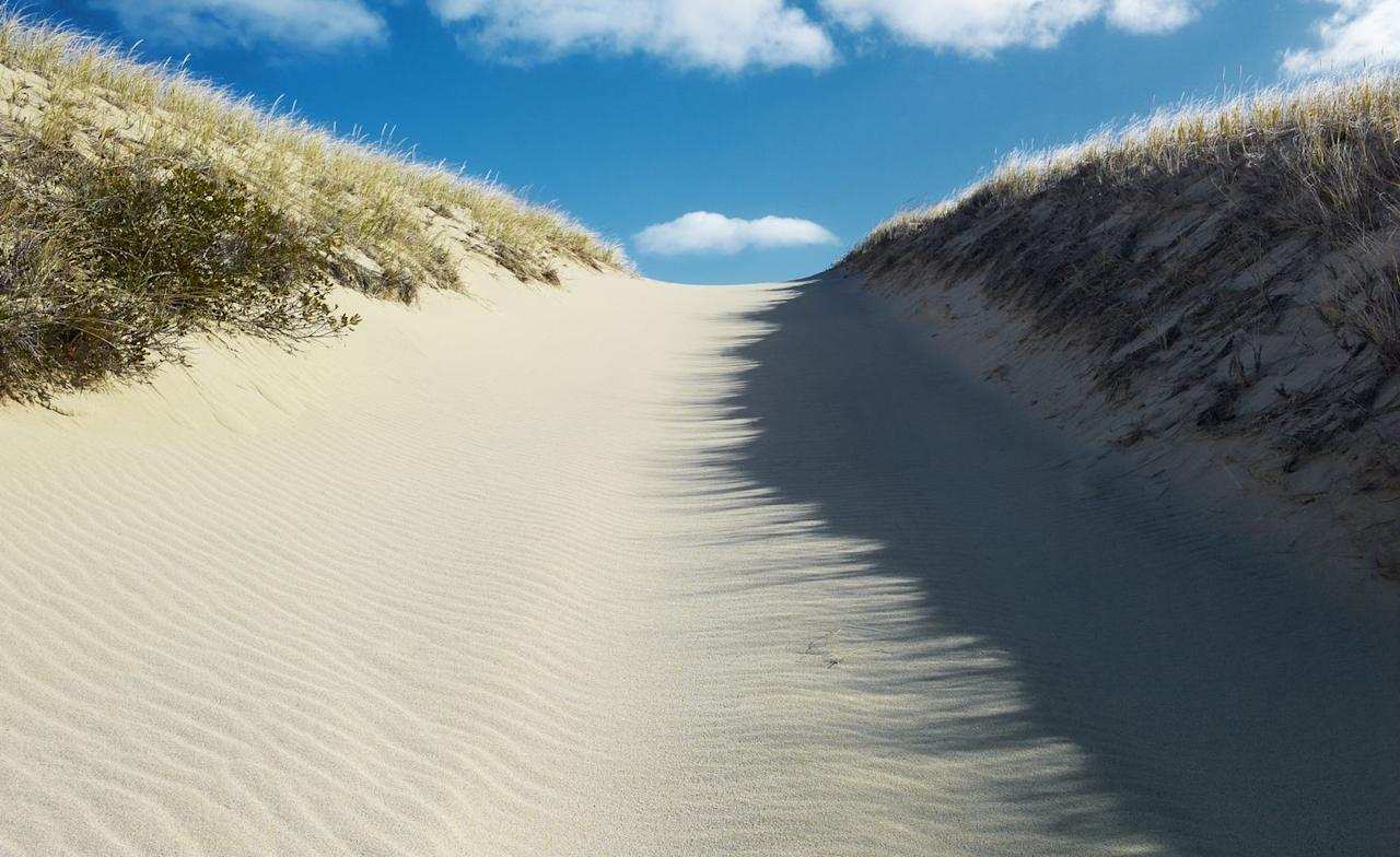 <p>White sand and blue skies make the perfect pair, don't they?</p>