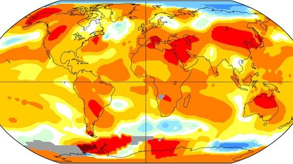 """<img alt=""""""""/><p>In a surprising finding, NASA released data Tuesday showing that July 2017 is tied for the warmest such month on record, statistically deadlocked with July 2016. This means that July was one of the warmest months the planet has seen in 137 years of record-keeping, comparable to July and August 2016, which tied for the record for the warmest month overall.</p> <p>What makes this year's July record noteworthy is that it occurred in the absence of a natural climate cycle, like El Niño, which would help heighten global average surface temperatures. A strong El Niño, combined with human-caused global warming, helped push 2016 to claim the record for the warmest year since reliable thermometer records began in 1880.</p> <p>In addition, the finding comes during a summer in which large parts of the Arctic have seen below average temperatures, bucking the recent sharp warming trend there. (Critics of NASA's temperature data sometimes argue that Arctic warming skews the agency's figures so they are biased as too high.)</p> <div><p>SEE ALSO: <a rel=""""nofollow"""" href=""""http://mashable.com/2017/08/08/summer-weather-on-steroids-wildfires-heat-waves/?utm_cid=a-seealso&utm_campaign=&utm_context=textlink&utm_medium=rss&utm_source="""">Summer on steroids: Fires, devilish heat waves, and floods</a></p></div> <p>The global average temperature during July 2017 was 0.83 degrees Celsius, or 1.49 degrees Fahrenheit, above the monthly average, NASA found. (NASA uses a 1951 to 1980 baseline for its temperature reports.)</p> <p>""""Only July 2016 showed a similarly high temperature [0.82 degrees Celsius above average], all previous months of July were more than a tenth of a degree cooler,"""" NASA stated in a <a rel=""""nofollow"""" href=""""https://data.giss.nasa.gov/gistemp/news/20170815/"""">press release</a>.</p> <p>NASA's temperature figures for July 2017 are preliminary, and may change as more data is examined and methods are refined, according to Gavin Schmidt, the director of NASA's Goddard I"""
