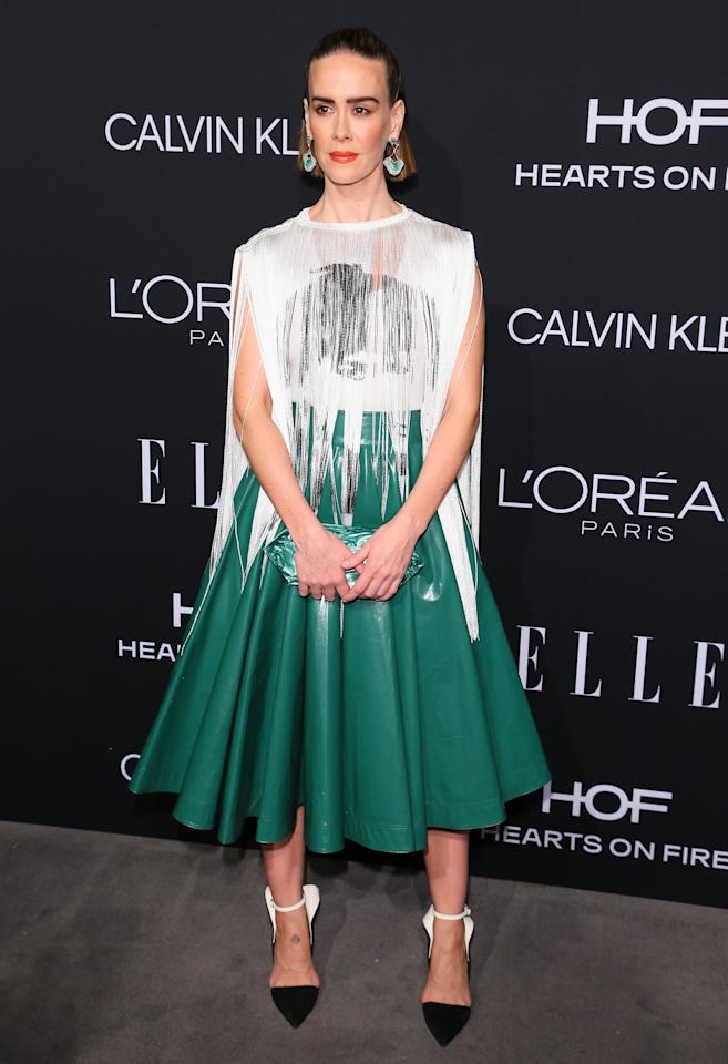<p>Wearing Calvin Klein. <em>[Photo: Getty]</em> </p>