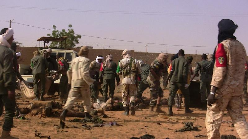 Attack in northern Mali kills at least 33, dozens injured