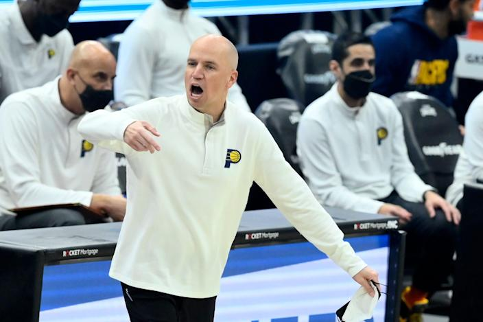 Nate Bjorkgren went 34-38 in his only season as the Indiana Pacers' head coach.