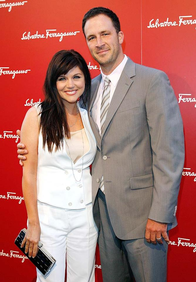 """Beverly Hills 90210"" actress Tiffani Thiessen and her hubby Brady Smith celebrated the birth of their first child, daughter Harper Renn, on June 15. Donato Sardella/<a href=""http://www.wireimage.com"" target=""new"">WireImage.com</a> - June 2, 2009"