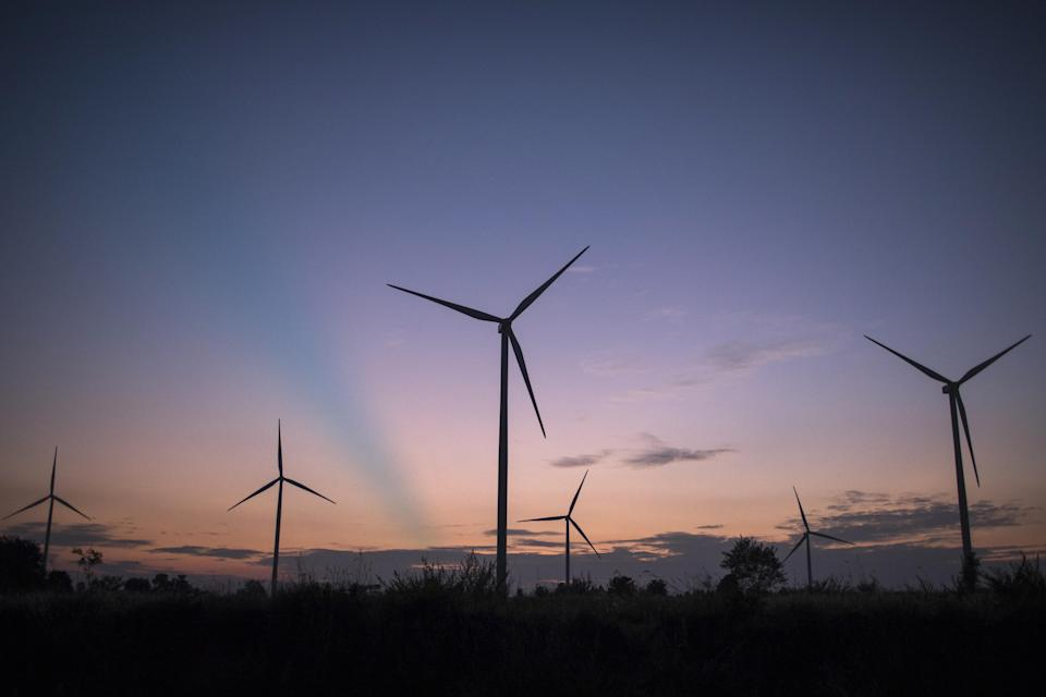 You can get £100 for switching to a green energy firm. Getty Images
