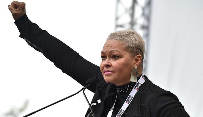 Donna Hylton at the Women's March