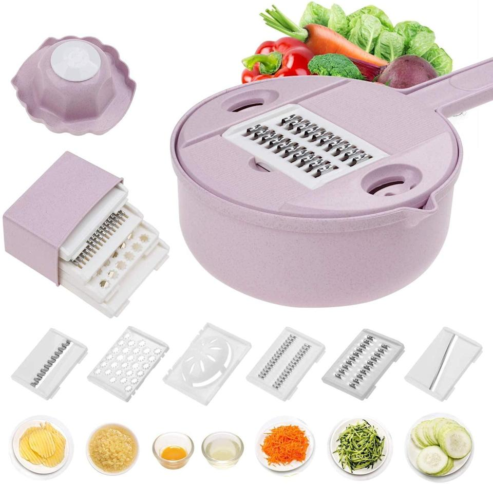 <p>Slice cheese, carrots, and more in this <span>Jeslon Vegetable Mandoline Slicer</span> ($17).</p>