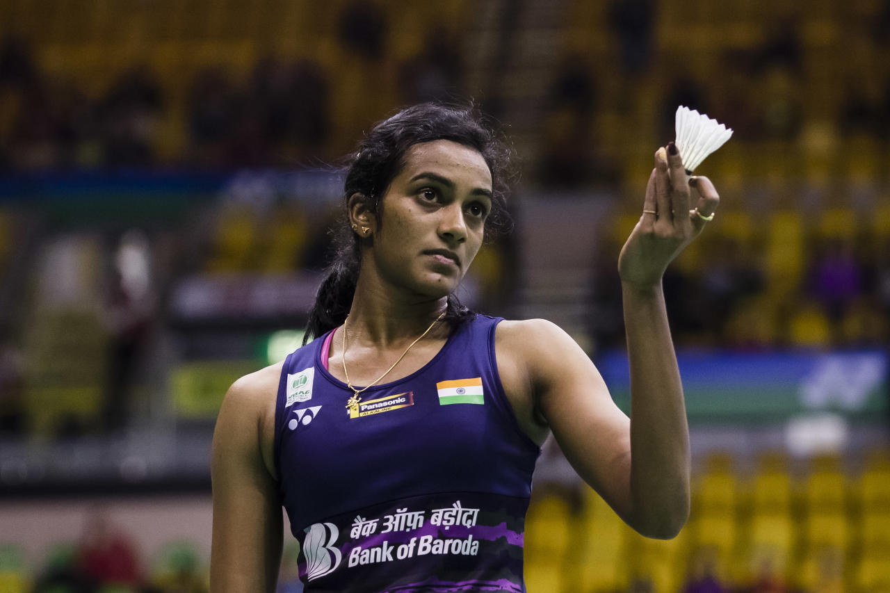 <p>P.V. Sindhu 2017 Brand Rank 15, Brand Value $15 million, new entrant, Brand ambassador for Gatorade and Panasonic Batteries </p>