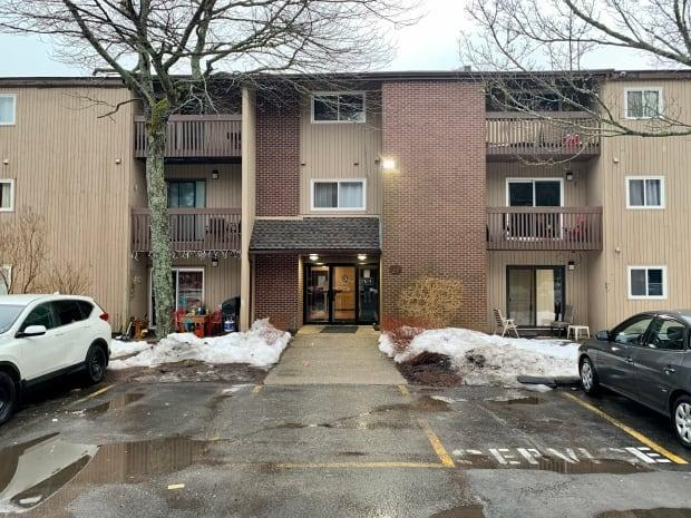 Halifax police are investigating after a man was shot and abducted from this address.  (Paul Palmeter/CBC - image credit)