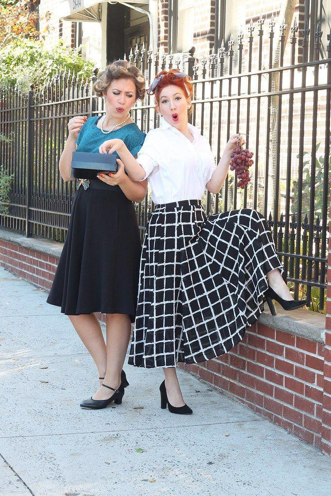"""<p>Grab your bestie and re-create Lucy and Ethel at their finest with what you have in the back of your closets—just be sure to bring grapes, chocolates and your funniest faces.</p><p><strong>Get the tutorial at <a href=""""http://livingaftermidnite.com/2015/10/3-halloween-costumes-for-you-and-your-bestie.html"""" rel=""""nofollow noopener"""" target=""""_blank"""" data-ylk=""""slk:Living After Midnight"""" class=""""link rapid-noclick-resp"""">Living After Midnight</a>.</strong></p><p><a class=""""link rapid-noclick-resp"""" href=""""https://www.amazon.com/s?k=Midi+Skirt&tag=syn-yahoo-20&ascsubtag=%5Bartid%7C10050.g.4571%5Bsrc%7Cyahoo-us"""" rel=""""nofollow noopener"""" target=""""_blank"""" data-ylk=""""slk:SHOP MIDI SKIRTS"""">SHOP MIDI SKIRTS</a></p><p><strong>RELATED:</strong> <a href=""""https://www.countryliving.com/diy-crafts/g21349110/best-friend-halloween-costumes/"""" rel=""""nofollow noopener"""" target=""""_blank"""" data-ylk=""""slk:38 Best Friend Halloween Costumes for Double the Toil and Trouble"""" class=""""link rapid-noclick-resp"""">38 Best Friend Halloween Costumes for Double the Toil and Trouble</a></p>"""