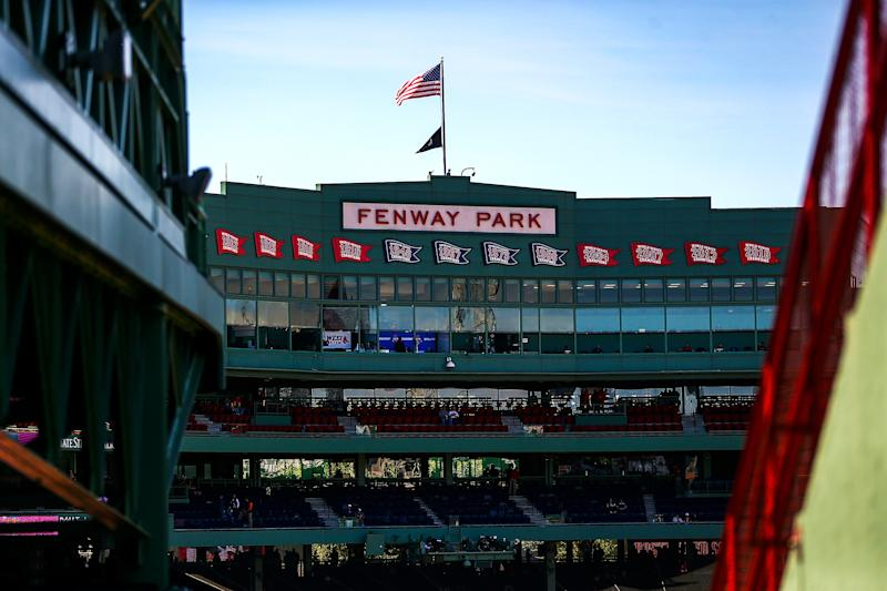 BOSTON, MA - MAY 11: A general view of the stadium before a game between the Boston Red Sox and the Seattle Mariners at Fenway Park on May 11, 2019 in Boston, Massachusetts. (Photo by Adam Glanzman/Getty Images)
