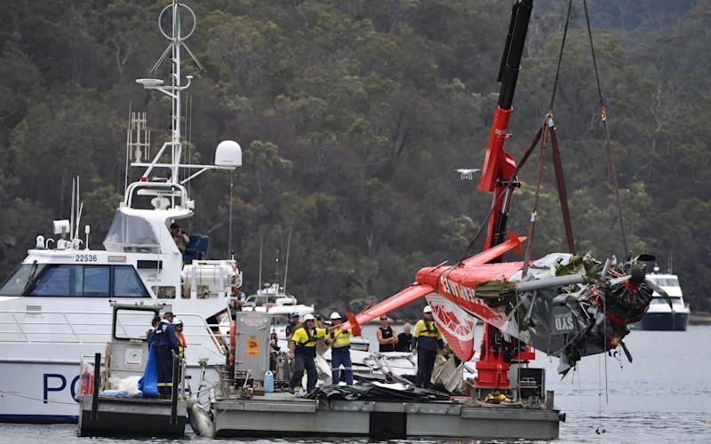 The pilot and five passengers were killed: Richard Cousins, the 58-year-old head of catering giant Compass, his sons William, 25, and Edward, 23, his fiancee Emma Bowden, 48, and her 11-year-old daughter Heather Bowden-Page - Reuters