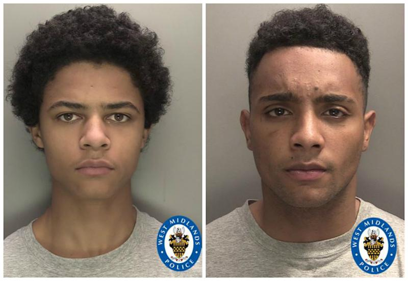 Blake, left, and Miles, right. (West Midlands Police)