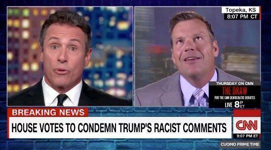 GOP Senate Candidate Can't Answer When Asked If He'd Support A Racist President