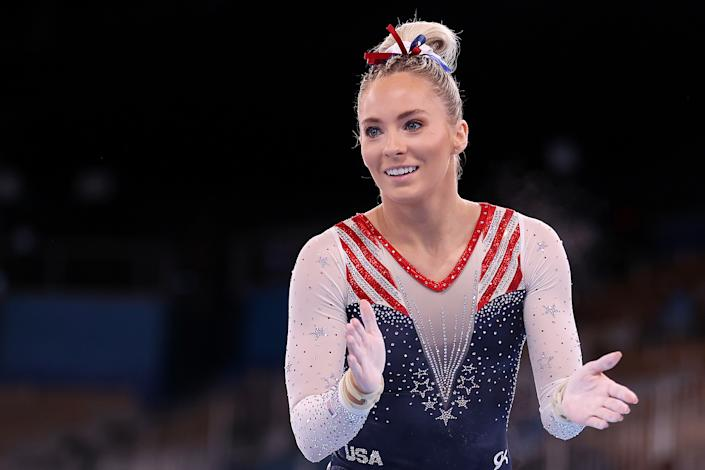 <p>MyKayla Skinner is from Gilbert, AZ and is competing in her first Olympics.</p>