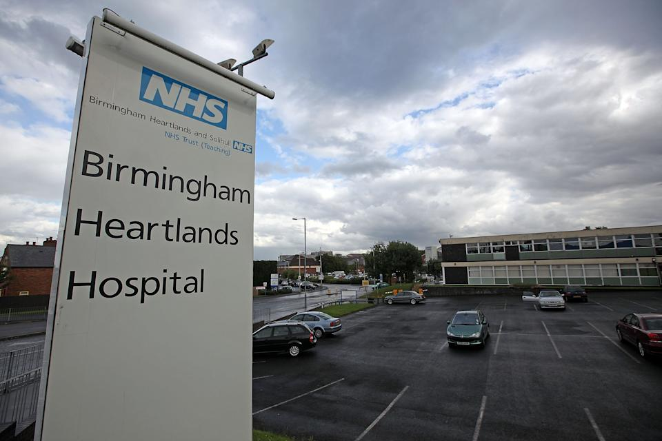 BIRMINGHAM, UNITED KINGDOM - JULY 14:  A general view of Birmingham Heartlands Hospital on July 14, 2009 in Birmingham, England.  (Photo by Christopher Furlong/Getty Images)