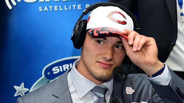 While he has showed flashes of solid quarterbacking talent, Mitch Trubisky is off to an inauspicious start with the Chicago Bears.