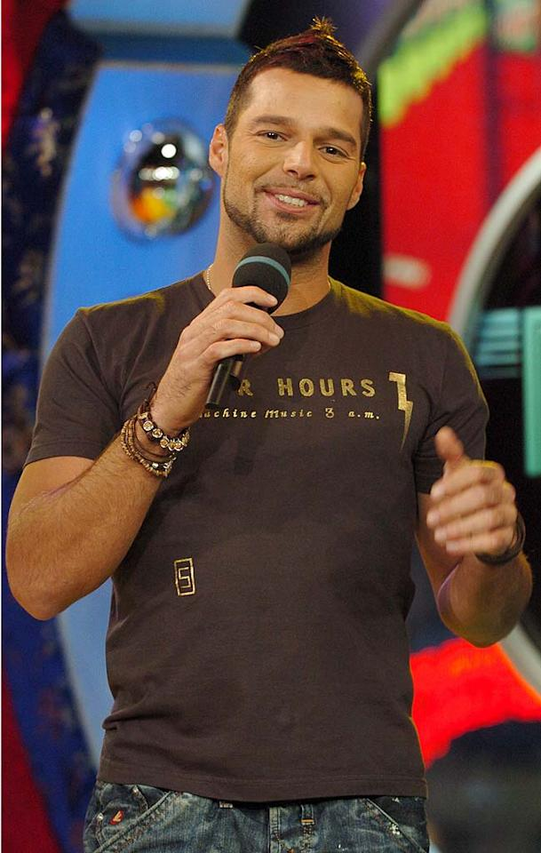 "Rounding out the top six men is Ricky Martin. It's hard to believe it's been nearly a decade since the former Menudo singer shook his bon-bon to superstardom. Nevertheless, he's still popular with single females. Steve Granitz/<a href=""http://www.wireimage.com"" target=""new"">WireImage.com</a> - January 29, 2007"