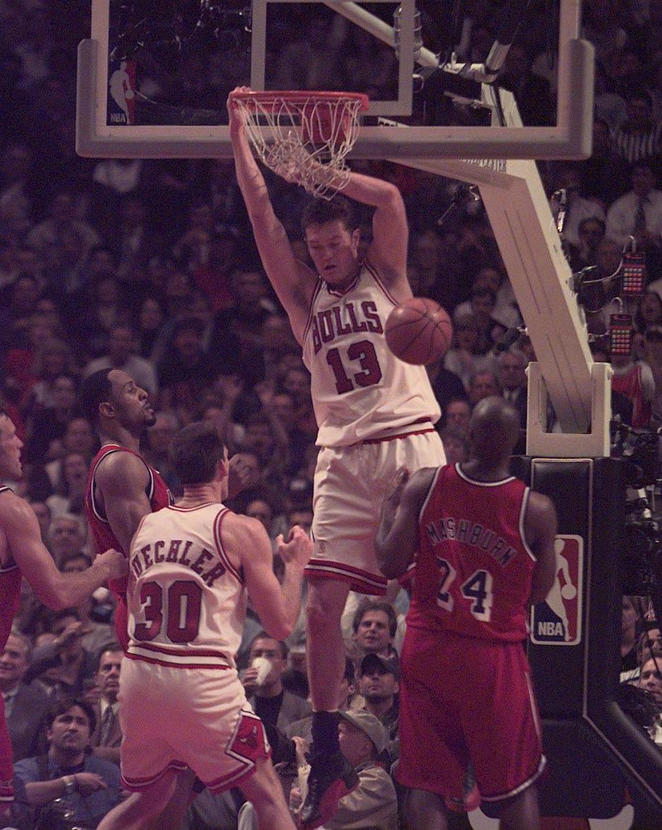 """Luc Longley was not interviewed for """"The Last Dance."""""""