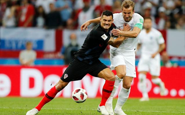 Croatia beat England in the World Cup semi-final last summer - AP