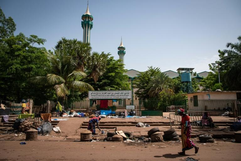 The Grand Mosque in Bamako, where the assassination bid took place
