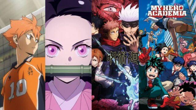 Some of the famous anime series