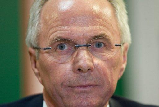 Sven-Goran Eriksson was England's head coach from 2001 to 2006