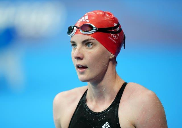 Kathleen Dawson missed out on a medal in the women's 100m backstroke (Joe Giddens/PA)