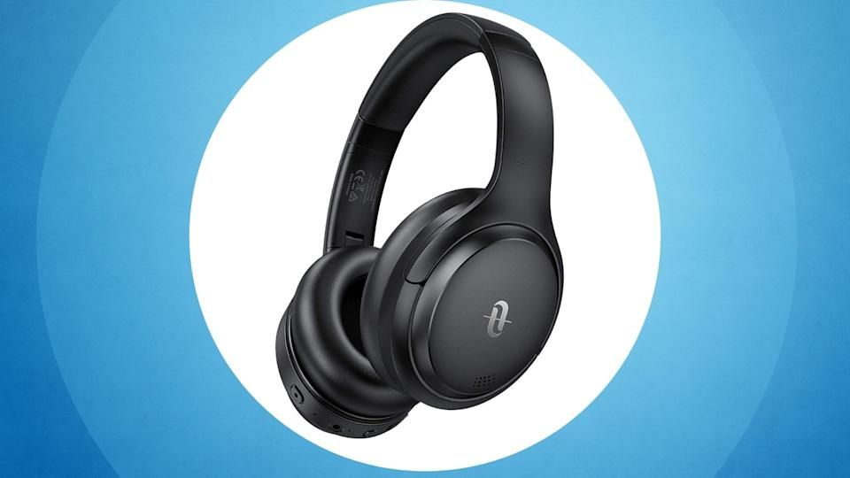 TaoTronics Hybrid Active Noise Cancelling Headphones - Amazon, $56 (originally $90)