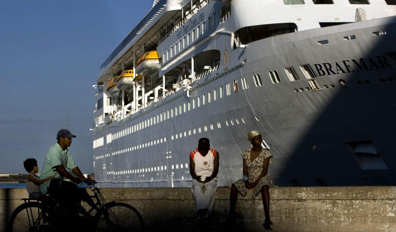 Cruise ships stranded after countries adopt virus measures
