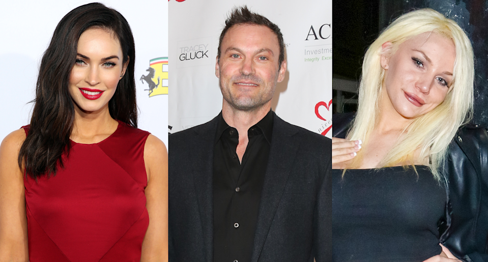 Megan Fox, Brian Austin Green and Courtney Stodden (Photo: Getty Images)