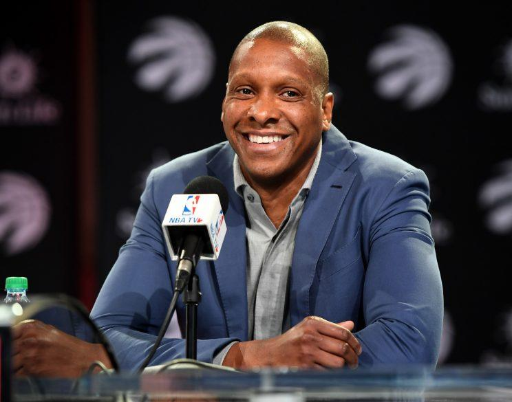 Masai Ujiri is not running from a challenge. (Getty)