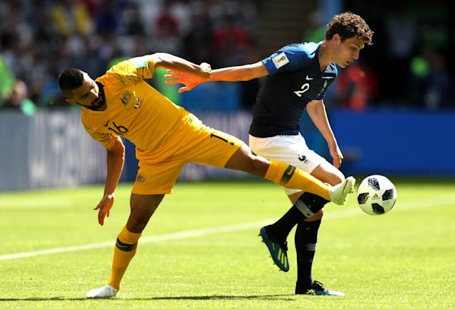 <p>There is little room for error as the Socceroos hold firm against one of the World Cup favoruites </p>