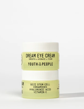 """<h3>Dream Eye Cream</h3>This smells like a good night's rest. I don't really know how else to describe it, but you'll know what I mean when you try it. After noticing how much softer it made the small area of skin where I did a patch test, I started using it on my sensitive undereyes.<br><br>It's supposed to smooth fine lines and wrinkles, but I haven't been using it long enough to see a real difference there. Still, the squalane and moringa have both worked to hydrate and smooth my undereyes significantly. I will definitely continue to use this cream.<br><br><strong>Youth To The People</strong> Dream Eye Cream, $, available at <a href=""""https://go.skimresources.com/?id=30283X879131&url=https%3A%2F%2Fwww.youthtothepeople.com%2Fcollections%2Fall"""" rel=""""nofollow noopener"""" target=""""_blank"""" data-ylk=""""slk:Youth To The People"""" class=""""link rapid-noclick-resp"""">Youth To The People</a>"""