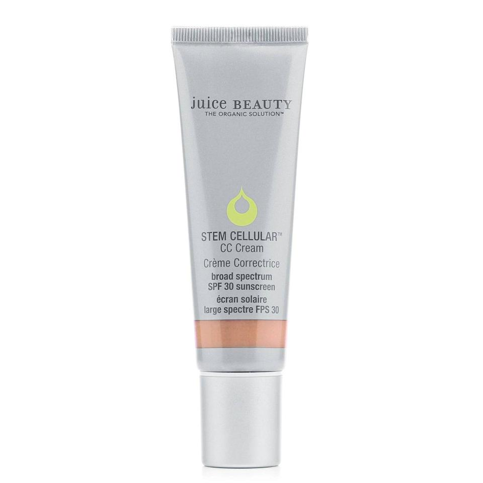<p>The <span>Juice Beauty Stem Cellular CC Cream SPF 30</span> ($39) has mineral sunscreen formulated in, so if you're not a fan of chemical sunscreens, this is a great one to choose. It comes in seven shades and provides medium coverage.</p>