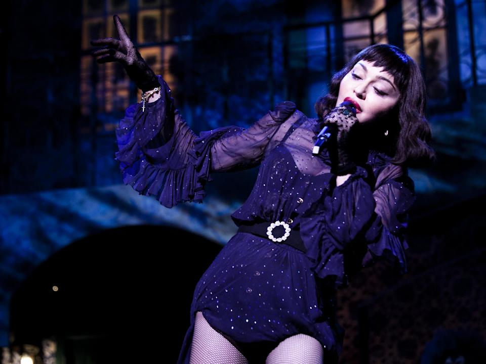 Madonna performs live during her Madame X tour: Ricardo Gomes