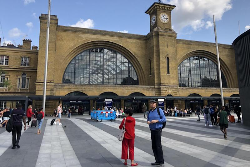 Which way? Both London King's Cross (pictured) and Euston face disruption: Simon Calder