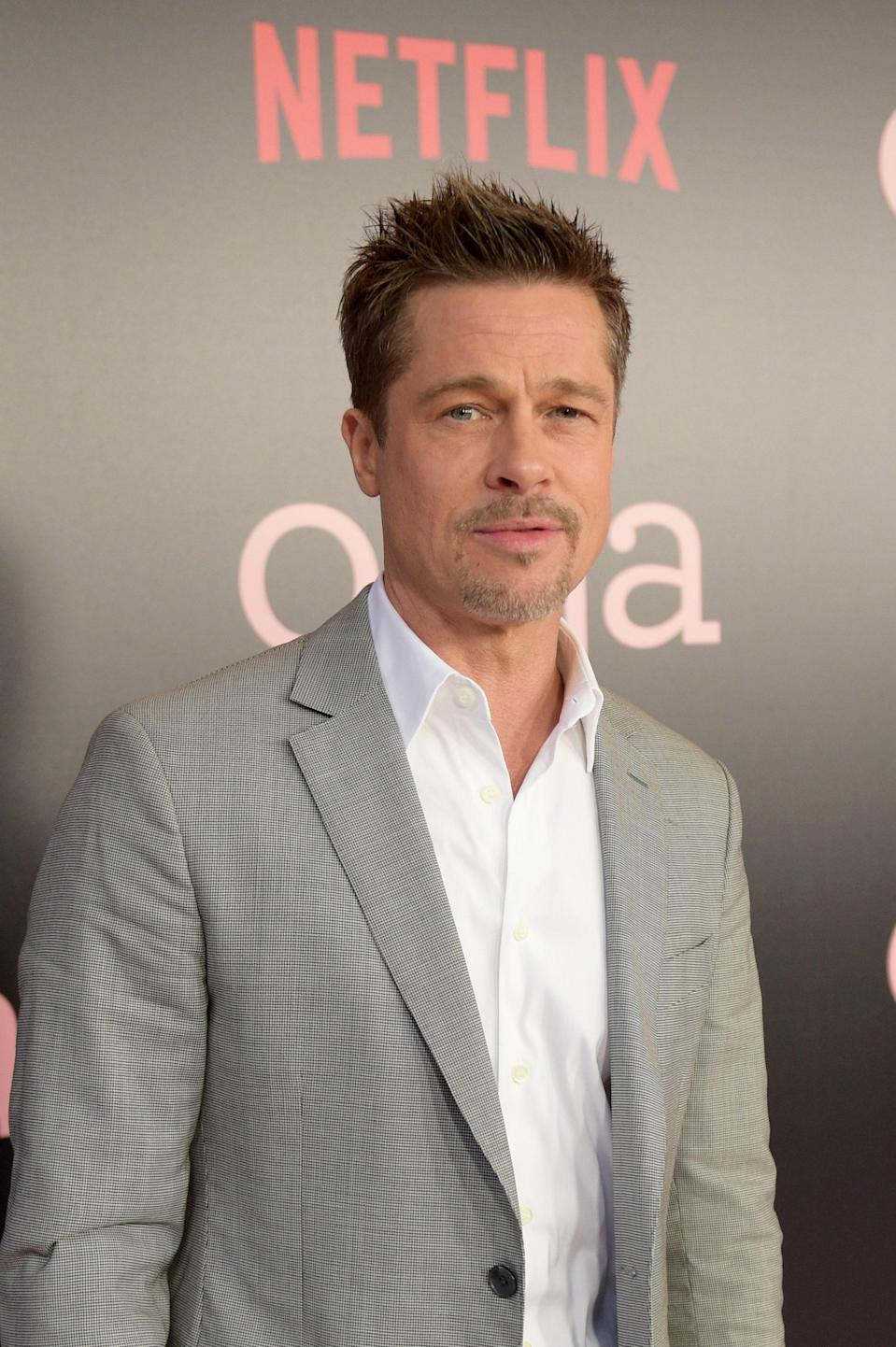 """Brad Pitt decided to use a name <em>close</em> to his birth name when he started his career. Instead of going by his full birth name, William Bradley Pitt, he shortened it to Brad Pitt. (It does sound a bit better than Will Pitt, if you ask me.) <a href=""""https://pagesix.com/2018/01/02/brad-pitt-uses-his-real-name-when-flirting/"""" rel=""""nofollow noopener"""" target=""""_blank"""" data-ylk=""""slk:According to Page Six"""" class=""""link rapid-noclick-resp"""">According to Page Six</a>, in his personal life he likes to go by William. While on a coffee run, a woman introduced herself and he reportedly said, """"Hi, I'm William."""" She replied, """"Oh, you look like a Bradley."""" And he responded, """"Well, that's my middle name,"""" and smiled and winked. Swoon!"""