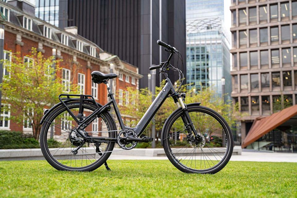 """<p>Now that summer is finally here, it's time to make the most of the sunshine with the new and improved Burlington e-bike (£1,949) from the British brand VOLT, who have quickly become the brand for in-the-know cyclists. This incredible design – a step-through classic that harnesses a powerful SpinTech motor – is perfect for whizzing around town in warmer weather, so you arrive at your destination in good time and without breaking a sweat, no matter how steep the hills. And if that wasn't enough, you'll be cutting down on personal carbon emissions and building fitness all at the same time. LH</p><p><a href=""""http://www.voltbikes.co.uk"""" rel=""""nofollow noopener"""" target=""""_blank"""" data-ylk=""""slk:www.voltbikes.co.uk"""" class=""""link rapid-noclick-resp"""">www.voltbikes.co.uk</a></p>"""