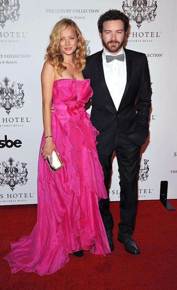 "And the best dressed couple of the evening ... none other than Bijou Phillips and her main squeeze, Danny Masterson. Frazer Harrison/<a href=""http://www.gettyimages.com/"" target=""new"">GettyImages.com</a> - December 4, 2008"