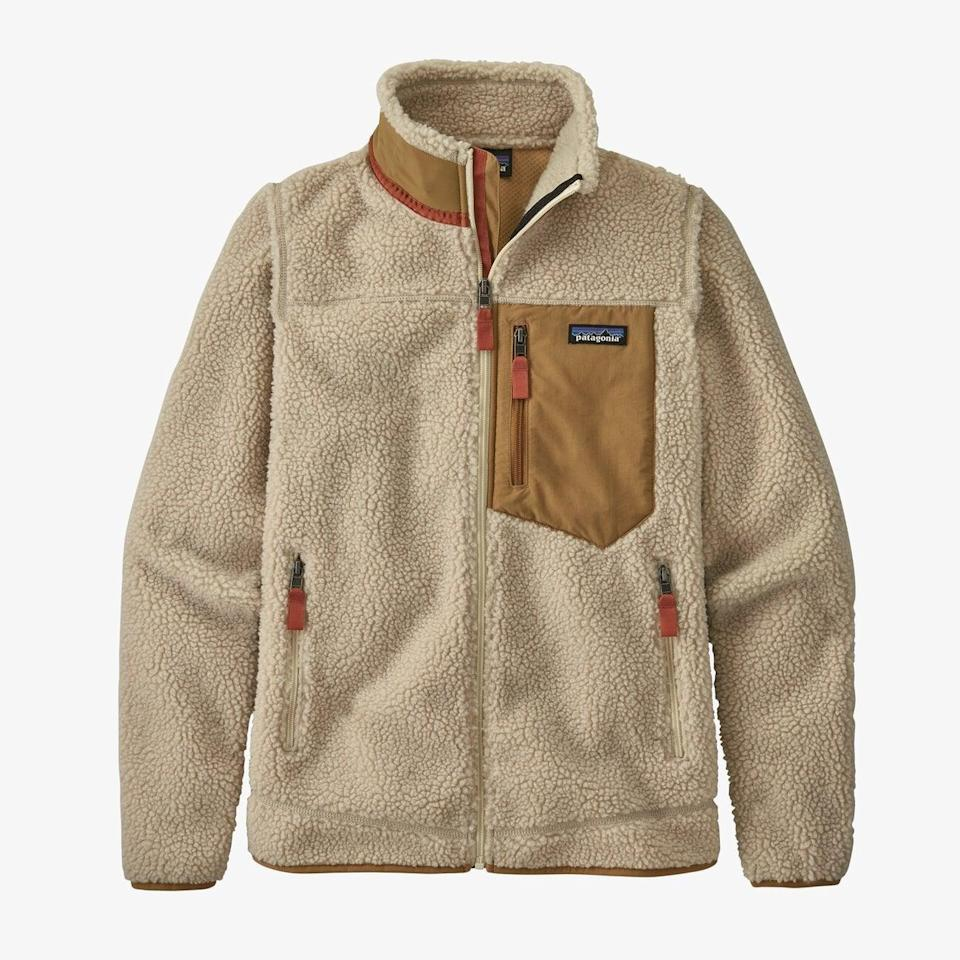 <p><span>Patagonia Classic Retro-X Fleece Jacket</span> ($199)</p>