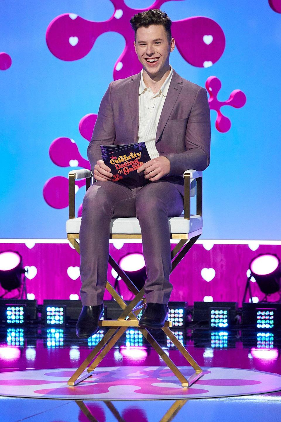 THE CELEBRITY DATING GAME Nolan Gould